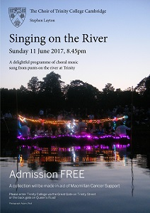 Singing on the River 2017