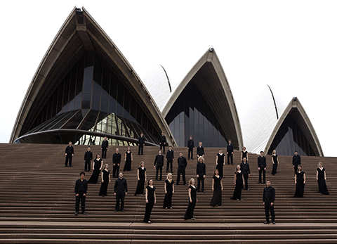 On the steps of the Sydney Opera House - Australia Tour