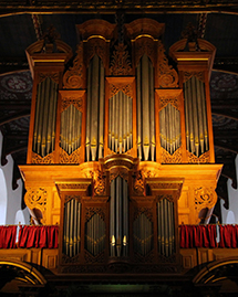 View of the Organ from the Chapel