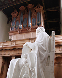 View of the Organ from the Ante-Chapel