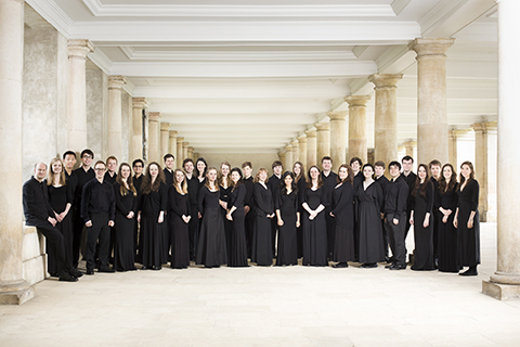 The Choir under the Wren Library