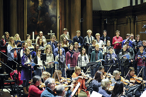 Christmas Oratorio recording