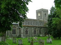 All Saints' Church, Dickleburgh