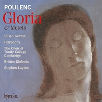 Recording for Hyperion - Poulenc Gloria 2007