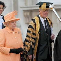 Queen visits Cambridge 2009