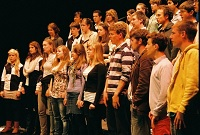 Trinity College Choir rehearse in Hobart 2010