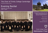 Evening Recital 2013
