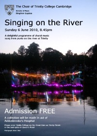 Singing on the River 2010