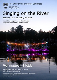 Singing on the River 2012