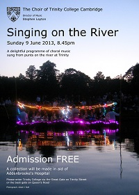 Singing on the River 2013