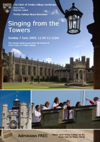 Singing from the Towers 2009