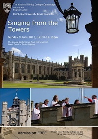 Singing from the Towers 2013