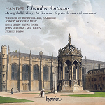 Handel Chandos Anthems