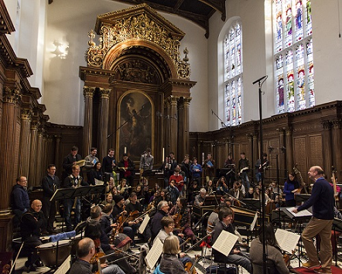 Trinity College Choir, the OAE, and Stephen Layton record Bach's Mass in B Minor